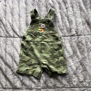 Baby Camo overalls